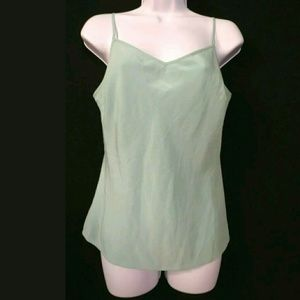 Nougat London Size 3 (Approx US 10) Silk Green
